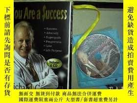 二手書博民逛書店You罕見Are a Success(6CD+1本書)Y2030
