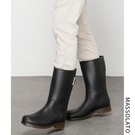 雨靴男士時尚水靴中筒釣魚防水套鞋高筒膠鞋防滑水鞋勞保雨鞋男 快速出貨