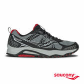 SAUCONY EXCURSION TR10 戶外越野鞋款-灰X黑X紅