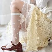 2雙丨小腿襪子女jk日系中筒襪薄款黑絲襪黑色長筒襪夏季【慢客生活】