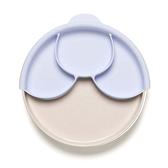 MINIWARE 天然寶貝碗 天然寶貝分隔餐盤組 牛奶薰衣草
