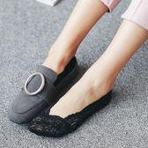 蕾絲船襪女襪夏季薄款隱形短襪硅膠防滑