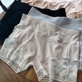 2條|蕾絲安全褲防走光無痕平角褲 大碼打底褲薄【聚寶屋】