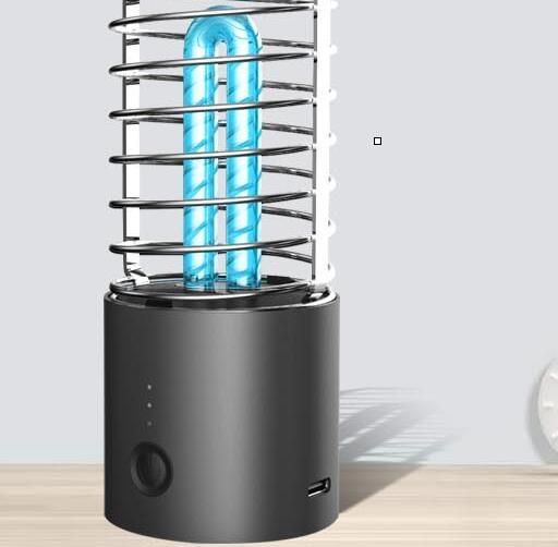 消毒燈 紫外線消毒燈家用殺菌除螨甲醛衛生間便攜移動消毒器碗柜室內廚房免運快出