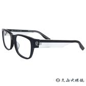McQ Alexander Mcqueen 眼鏡 MCQ0042F (黑-透明) 繽紛系列 近視眼鏡 久必大眼鏡