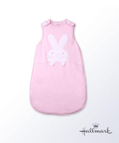 Hallmark Babies小兔子純棉加厚夾棉睡袋防踢被 HG3-B01-A7-AG-MR
