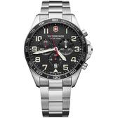 VICTORINOX SWISS ARMY瑞士維氏Fieldforce計時手錶 VISA-241855