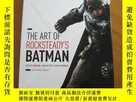 二手書博民逛書店The罕見Art of Rocksteady s Batman 蝙蝠俠設定集Y178456 丹尼爾 出版