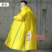 雨衣 男女雨衣長款全身外套風衣時尚潮雨衣電瓶車 電動車加厚雨披 4色