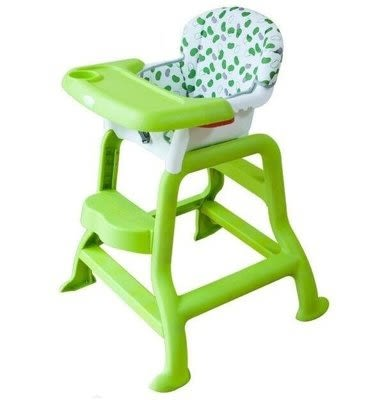 兒童餐桌椅  可調節 環保高餐椅【藍星居家】