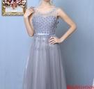 (45 Design)  7天到貨 長禮服伴娘禮服 結婚晚禮服姐妹裙長版禮服 韓式 洋裝 新娘敬酒服 連身裙14