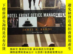 二手書博民逛書店Hotel罕見Front Office Management J