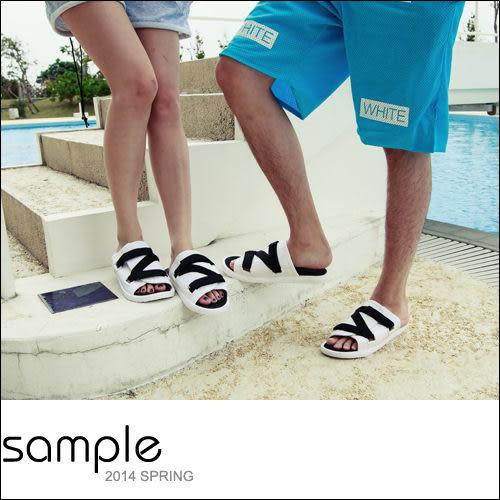 現貨 情侶 海灘鞋情侶款,可調式自粘矽膠拖鞋【SA8005】