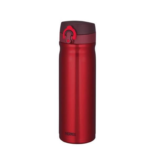 【THERMOS 膳魔師】不鏽鋼真空保溫瓶500ml-金屬紅 JMY-500-CSS