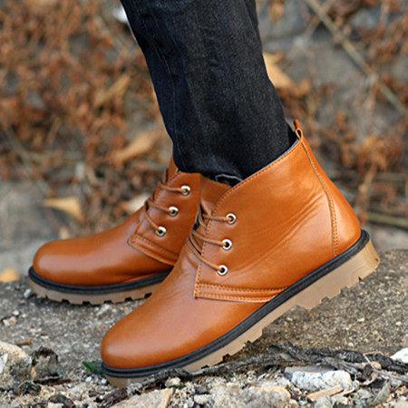 ※現貨 Billgo【H601009】復古馬丁靴 黑41