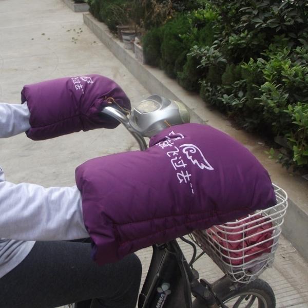 車把手套 電動車保暖手套電瓶車摩托車防寒防風車把套加厚暖把