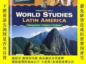 二手書博民逛書店World罕見Studies Latin America Student Edition-世界研究拉丁美洲學生版奇