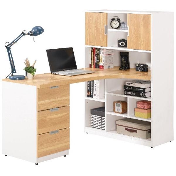 書桌 電腦桌 MK-686-7 卡爾5尺L型書桌 (不含其它產品)【大眾家居舘】