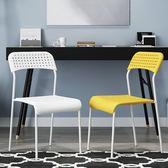 618好康鉅惠成人凳子辦公椅現代簡約靠背休閑電腦椅