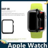 Apple Watch 類金屬手錶保護套 PC硬殼 韓國SP原裝同款 智慧鏡面螢幕框 外殼 38mm&42mm通用款