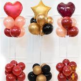 裝飾生日氣球支架 路引立柱地飄 開業活動婚禮場景布置【雲木雜貨】