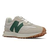 New Balance 男款 米白/綠 復古休閒鞋 MS327HR1 【KAORACER】