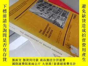 二手書博民逛書店The罕見Assessment of Major Hazards