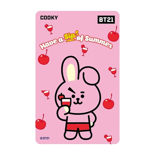 BT21《Summer Dolce-COOKY》一卡通