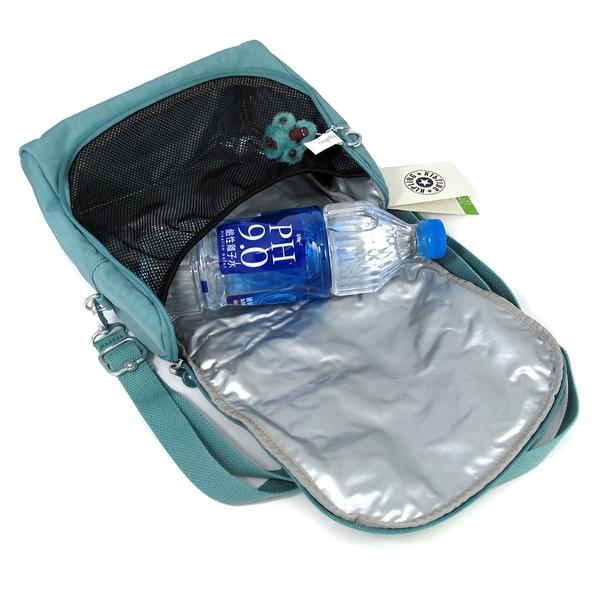 艾莉莎國際【現貨】 KIPLING KITCHIROU 素色保冷/保溫 野餐/便當袋-AC72543DM