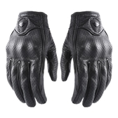 RUIGI摩托車手套四季騎行騎士機車羊皮手套男女士賽車手套可觸屏