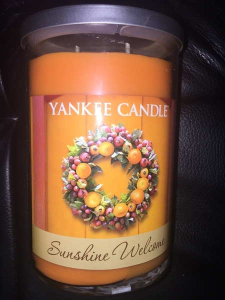 Yankee Candle蠟燭 SUNSHINE WELCOME YCE096