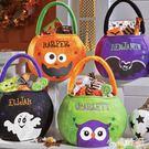萬圣節禮物糖果袋兒童討糖袋小禮品南瓜袋裝飾品布袋子創意手提袋 KV3191 『小美日記』