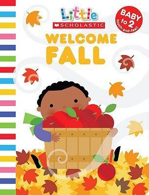 Welcome Fall 秋天來了觸摸概念小書