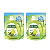 (組)茶樹莊園-茶樹天然濃縮酵素洗衣精補充包2入