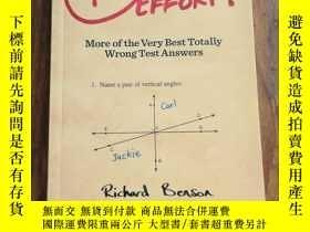 二手書博民逛書店F罕見for Effort: More of the Very