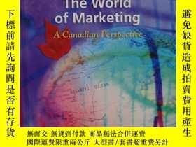 二手書博民逛書店The罕見World of Marketing : A Canadian Perspective 16開 精裝
