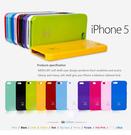 King*Shop~韓國 MERCURY APPLE 蘋果 iphone5 軟殼 矽膠套 粉彩 珠光 現貨 5S SE