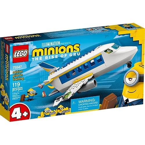 樂高積木 LEGO《 LT75547》小小兵系列 - Minion Pilot in Training / JOYBUS玩具百貨