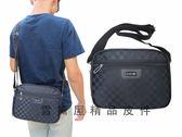 ~雪黛屋~BAIHO 斜側休閒肩側包防水尼龍布材質台灣製造品質保證隨身物品專用二層主袋 OH276