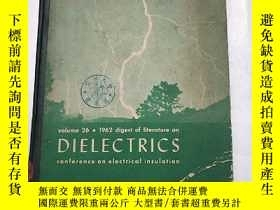 二手書博民逛書店dielectrics罕見conference on elect