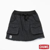 CHUMS 日本 女風格短裙 霧黑 CH181060K006