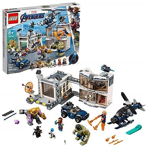 LEGO 樂高 Marvel Avengers Compound Battle 76131 Building Kit (699 Piece)