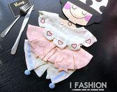 寶寶新生兒嬰兒口水圍兜純棉不防水全棉紗布裝飾花邊假領子圍嘴-ifashion