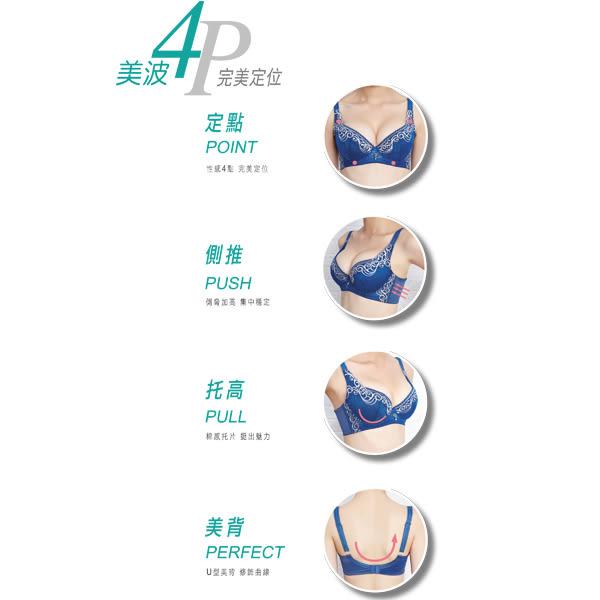 思薇爾-撩波系列A-C罩蕾絲包覆內衣(楊桃綠)
