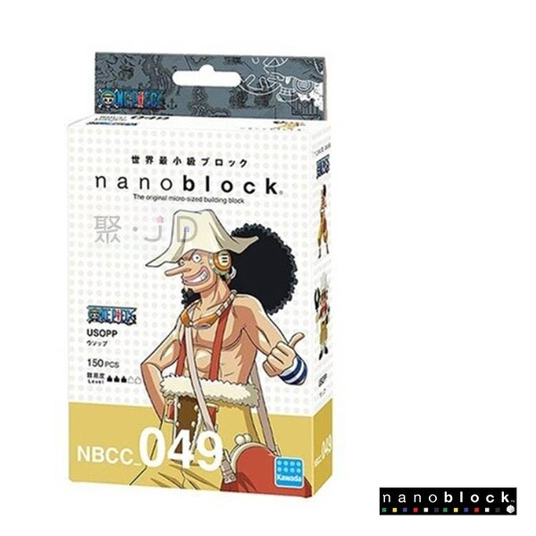 【日本 Kawada 河田】Nanoblock 迷你積木 騙人布 NBCC_049 海賊王/航海王/One Piece