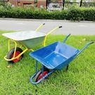 獨輪手推車農用單輪斗車小推車工地建筑泥沙花園藝垃圾搬運車家用 生活樂事館