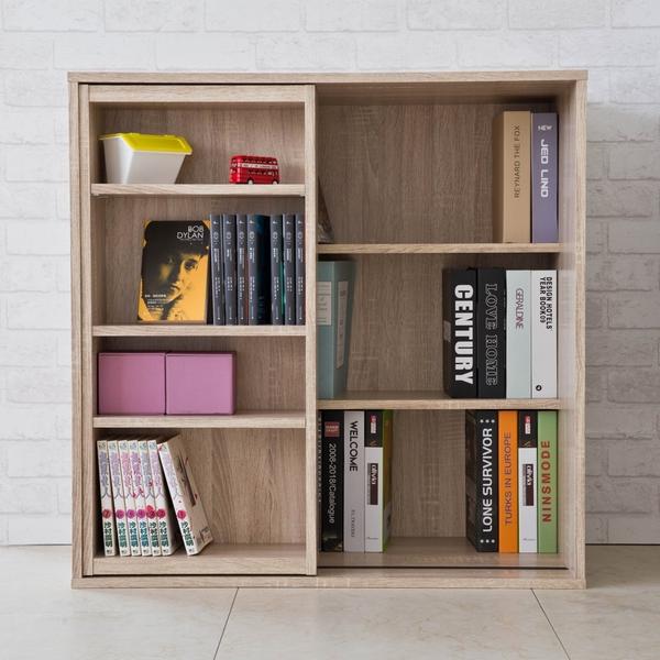 書櫃 置物櫃 收納櫃【收納屋】浩克大容量八格書櫃+收納書櫃&DIY組合傢俱