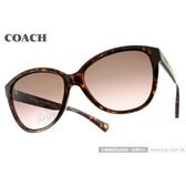 COACH 太陽眼鏡 COS8074 512014 (琥珀) 都會經典LOGO款墨鏡 # 金橘眼鏡