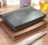 A5商務筆記本文具復古軟羊巴皮面記事本簡約學習加厚日記本子