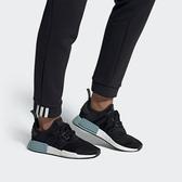 ISNEAKERS Adidas Originals NMD_R1 女款 拼接撞色 藍白 EE5178 許路兒 黑白藍
